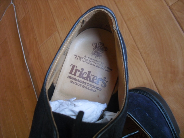 TRICKER`S ROBERT トリッカーズ レザーシューズ 27センチ < ブランドの
