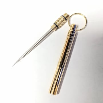 ALL METAL toothpick (pick TITANIUM) KeyHolder