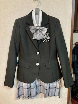 卒業式、入学式、女の子用スーツセット165A超美品♪