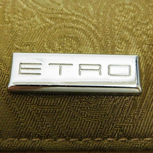 美品ETROエトロ 6連キーケース ペイズリー柄 緑系 良品 正規品 < ブランドの