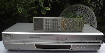 Victor/HR-DV4:VHSレコーダ/DVDプレーヤ中古完動0527