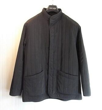 size46 アルマーニクラシコ 内綿入りキルティングジャケット