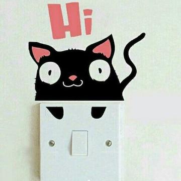 可愛い   猫ステッカー