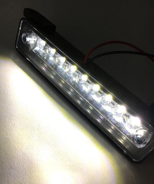 スズキ ジムニー JA11 JA12 JB23 等9連 LED ナンバー 灯 < 自動車/バイク
