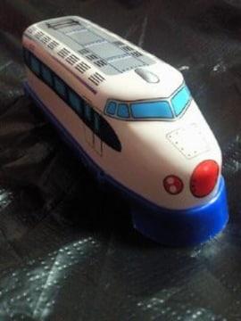 JR 鉄道 0型 新幹線 金属製 ぜんまい式 おもちゃ