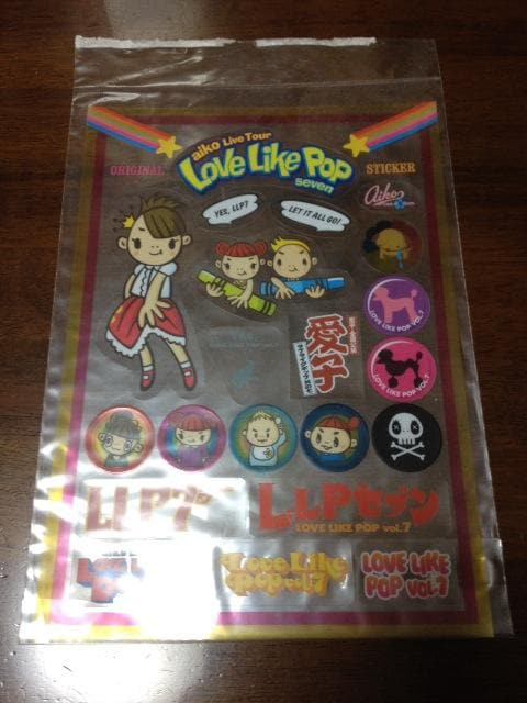 aiko LOVE LIKE POP vol.7ツアーグッズ★ステッカー  < タレントグッズの