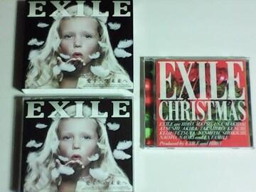 初回限定盤 4枚組 EXILE 愛すべき未来へ/エグザイル クリスマスディスク付き