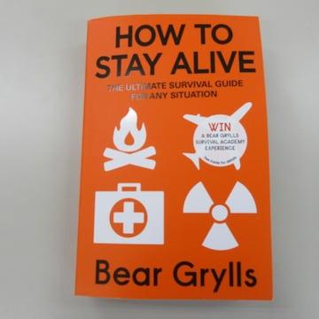 古本 『HOW TO STAY ALIVE』