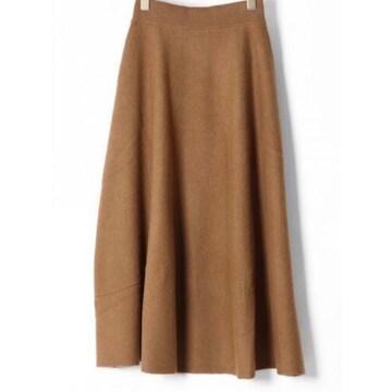 グレースコンチネンタルDiagram★ウールニットロングスカート