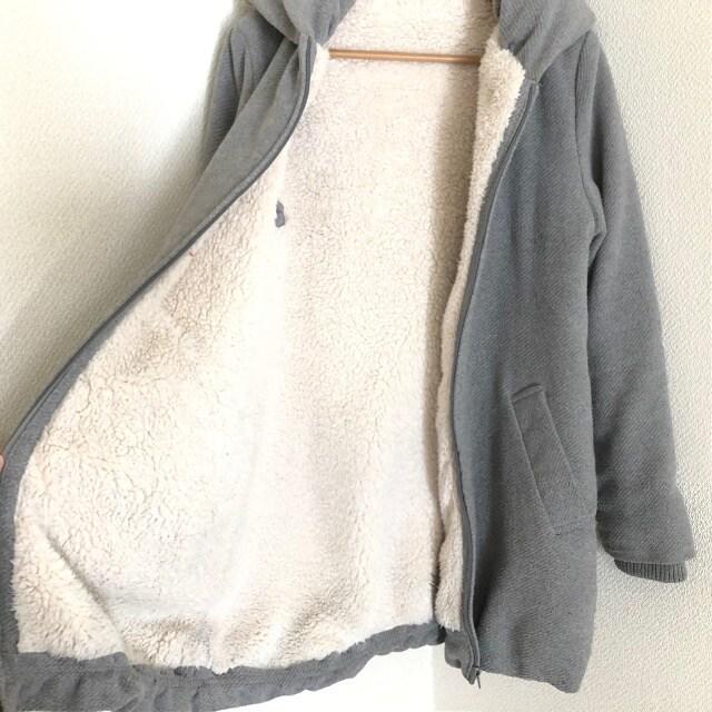 ビッグカラー暖かコート 裏地ボア < 女性ファッションの