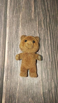 レアシルバニアファミリー初期ブラウンくまの赤ちゃん人形ドールエポック社