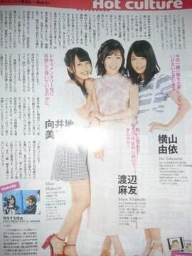 AKB48★2016年7/16〜7/22号★TVガイド