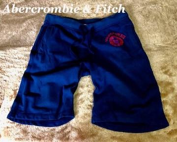 【Abercrombie&Fitch】スウェットショートパンツ L/Blue