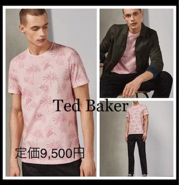 定価9,500円 Ted Baker【新品】STRAWボタニカルTシャツ S