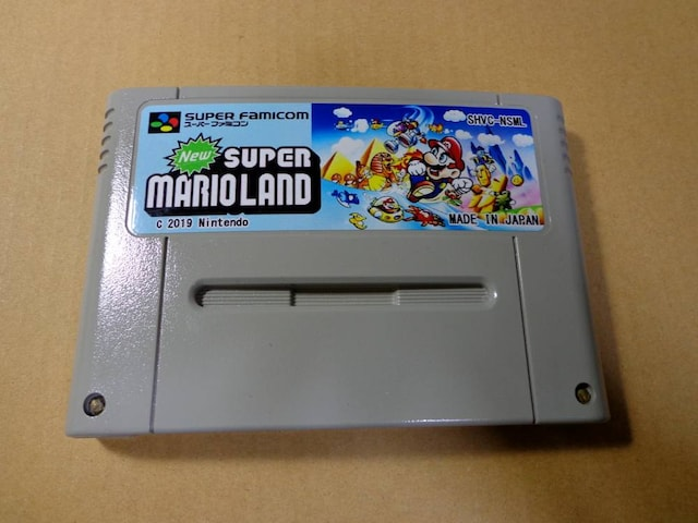 New SUPER MARIO LAND カセットのみ < ゲーム本体/ソフトの