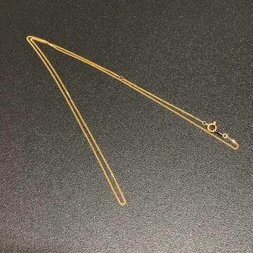 美品 K18 細身 喜平 45cm・50cm ネックレス キヘイ 約2.1g