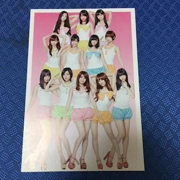 AKB48 オフィシャルカレンダー 2013 ハガキ