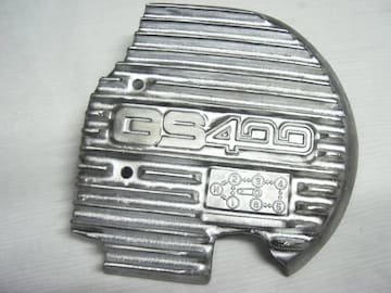 (611)GS400レアーなスプロケカバーフィンGS425GS400L S1