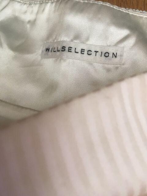 定価12,960円●WILLSELECTION●ストライプリボンフレアスカート < ブランドの