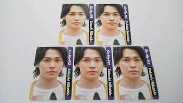 二階堂高嗣 カード (5枚)