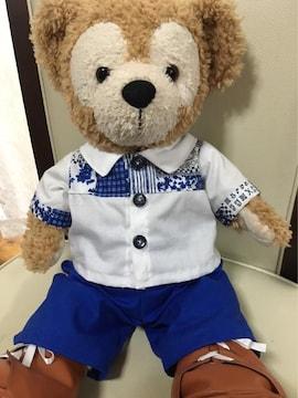 ダッフィー パッチワークシャツ コスチューム!