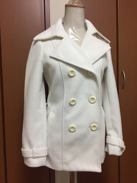 オシャレ♪ホワイトコート♪Pコート(〃ω〃)アウター