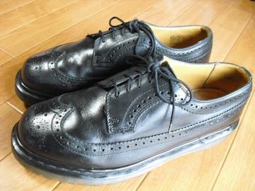 イングランド製 ドクターマーチ ウイングチップ ブーツ 29