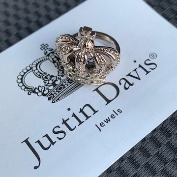 新品◆JUSTIN DAVIS◆DUTCHESS RING◆7号◆クラウンリング◆廃盤