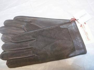 ジョルジュレッシュ高品質ピタード羊皮革手袋S〜M