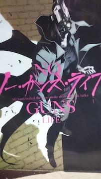 ■非売品■AnimeJapan2019 NO,ガンズ・ライフ アニメ化 新品クリアファイル