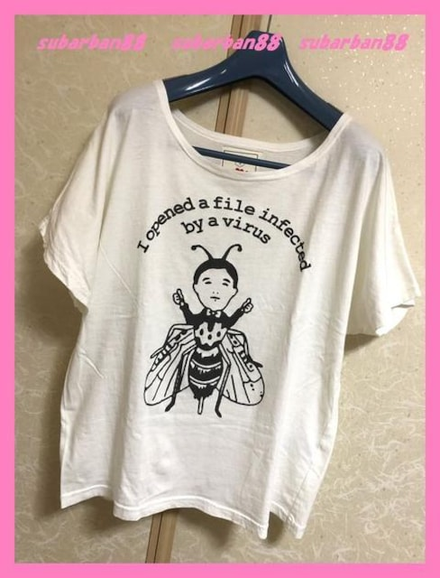 ☆WC☆超美品♪完売ハエドルマンオーバーサイズTシャツ☆  < ブランドの