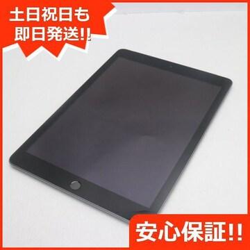 ●美品●SIMフリー iPad 第5世代 128GB スペースグレイ●