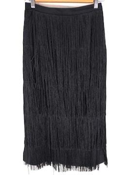 moussy(マウジー)FRINGE LONG スカートタイトスカート