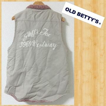 OLD BETTY'S オールドベティーズ デッキベスト 美品 ユニセックス ワーク ボア