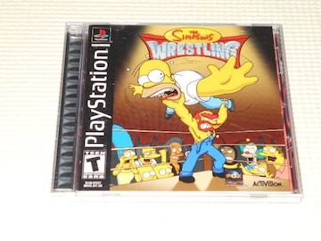 PS★THE SIMPSONS WRESTLING 海外版