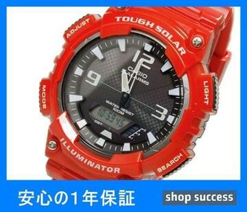 新品 即買///カシオ ソーラー アナデジ腕時計AQ-S810WC-4A