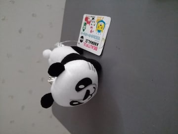 BEAUTIFUL ANIMALS! マスコットキーチェーン パンダ 未使用 動物 熊猫