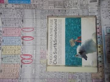 浜田省吾CD「CLUBSURF&SNOWBOUND」