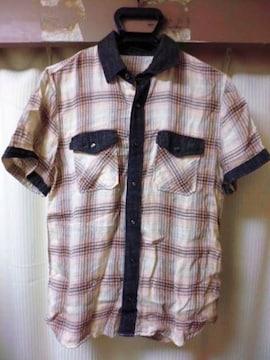 ロアーroar 10SS スワロ 二挺拳銃 ガーゼ チェックシャツ 2