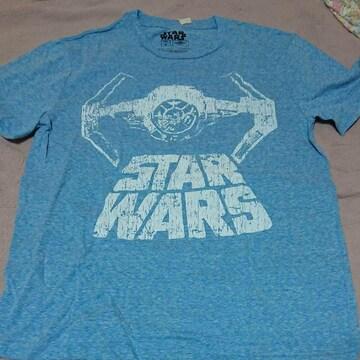 STAR WARSSサイズ水色プリントTシャツ 新品未使用