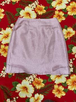 dazzlin☆キラキララメ☆綺麗なピンクミニスカート☆