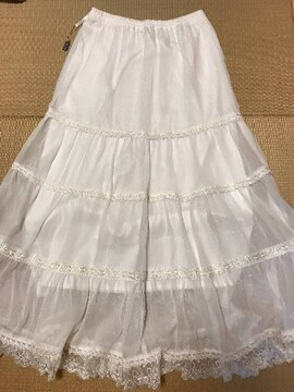 セシル★新品!シフォンロングスカート