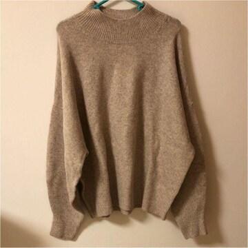 安室ちゃん 安室奈美恵 H&M ニット セーター 薄い茶色