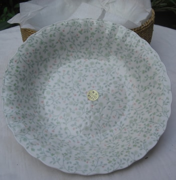 Teien Fine China/スープ&カレー皿かご付豪華セット未使用0602