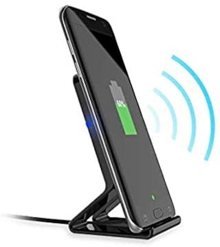 ワイヤレス充電スタンド、Fanshu 10W高速ワイヤレス充電器携帯電