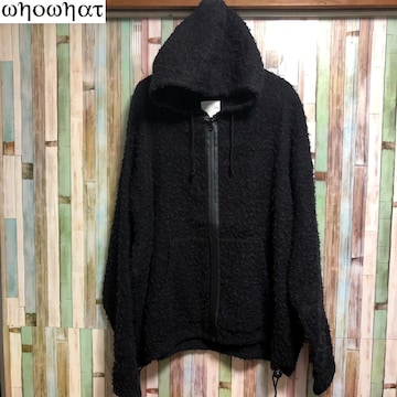 WHOWHAT BEASTIE PARKA ビッグシルエット 起毛加工