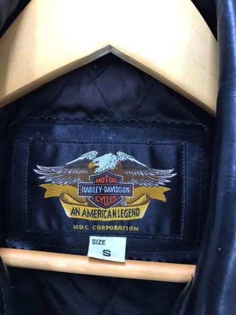HARLEY-DAVIDSON(ハーレーダビッドソン)40180 ダブルライダースジャケットライダースシ < 男性ファッションの