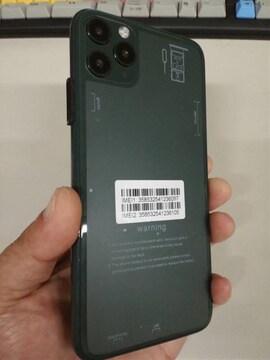 simフリー i11promax android グリーン 送料無料