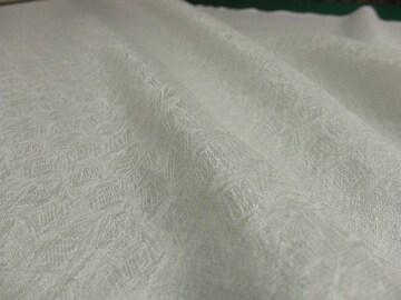 レトロ(No.e35051)約90�p幅×3m・生成りの綿麻ジャガード