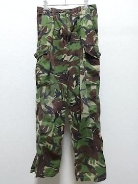 TROUSERS DPM COMBAT 薄手 カーゴパンツ 迷彩柄 80/76/92 イギリス軍
